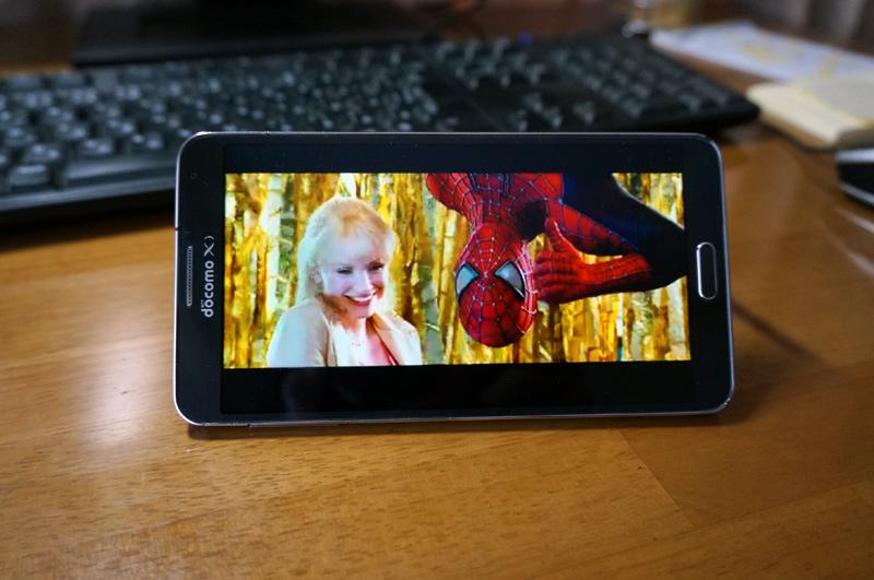 dビデオをスマートフォンで視聴