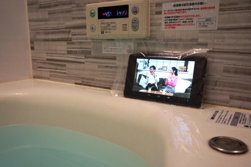 dビデオをタブレット視聴
